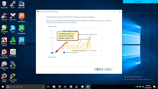 Cara Menonaktifkan User Account Control atau UAC di Windows 10_anditii.web.id