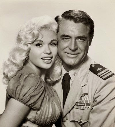 Jayne Mansfield Cary Grant Kiss Them For Me 1957