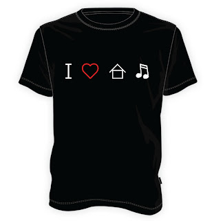 Koszulka I love house music
