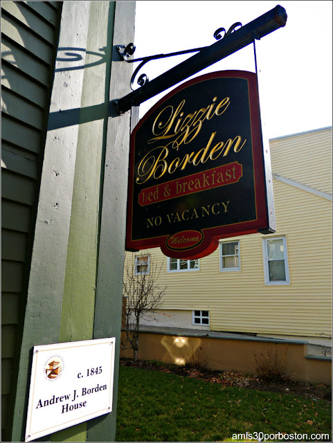 Lizzie Borden Bed & Breakfast Museum en Fall River, Massachusetts