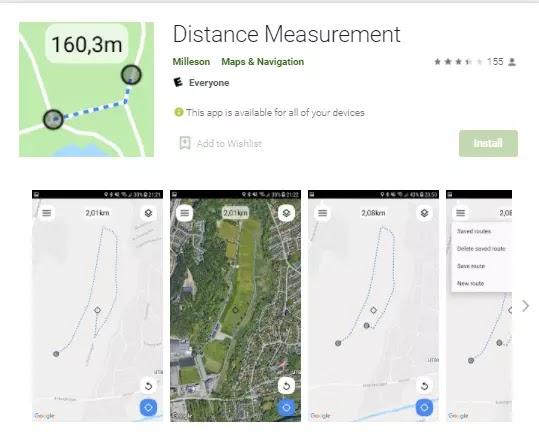 distance measurement app