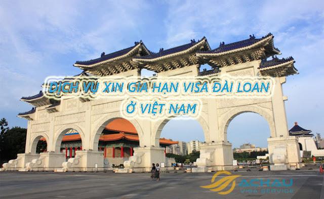 Xin gia hạn visa đài loan khi đang ở việt nam