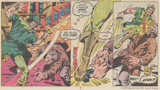Kung Fu Doug Moench Jim Craig