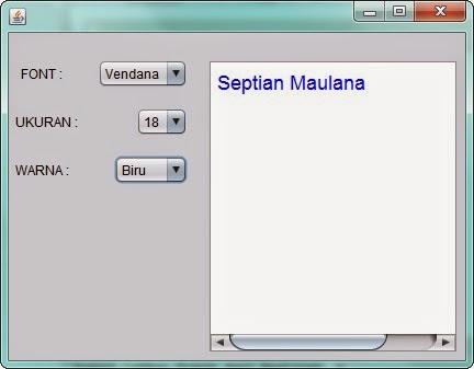 Latihan Praktikum Java Netbeans