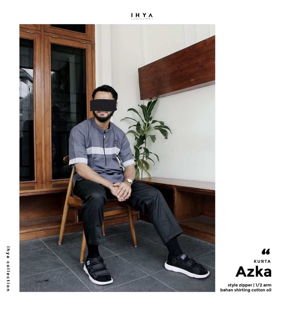 KURTA IHYA PENDEK (KK0059)