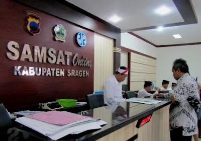 Jadwal Layanan & Lokasi SAMSAT KELILING Kota Sragen
