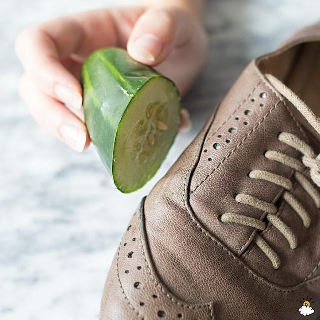 Αγγούρι Γυαλίστε Τα Παπούτσια Σας