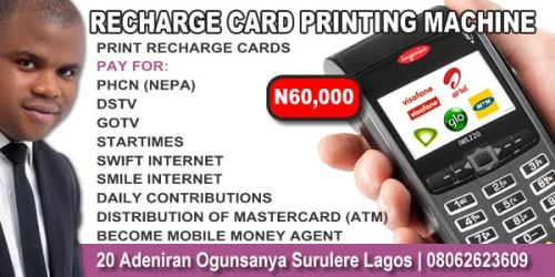 Buy Recharge Card Printing And Bill Payment Machine