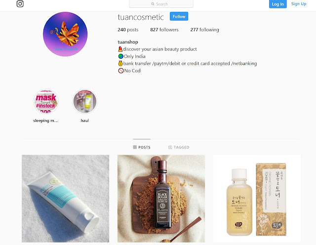 c247cc6c08 An Instagram store run by Priya Sharma, I started shopping from her even  before Instagram became a thing. I bought a lot of makeup and skincare  products ...