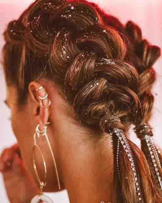 Ideias de penteados para o Carnaval