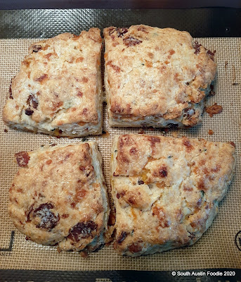 King Arthur Flour's bacon cheddar scones