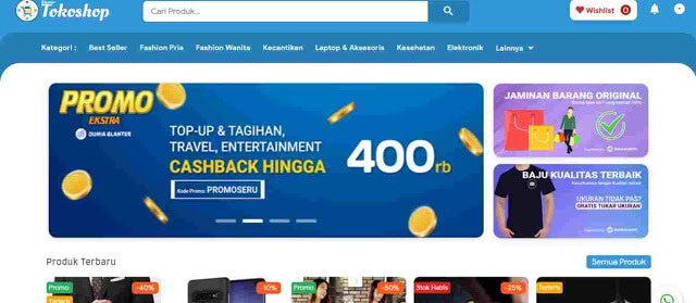 Download Template Blogger Blanter Tokoshop untuk Jualan Online Premium