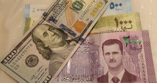 سعر صرف الليرة السورية أمام العملات الرئيسية الاثنين 20/1/2020