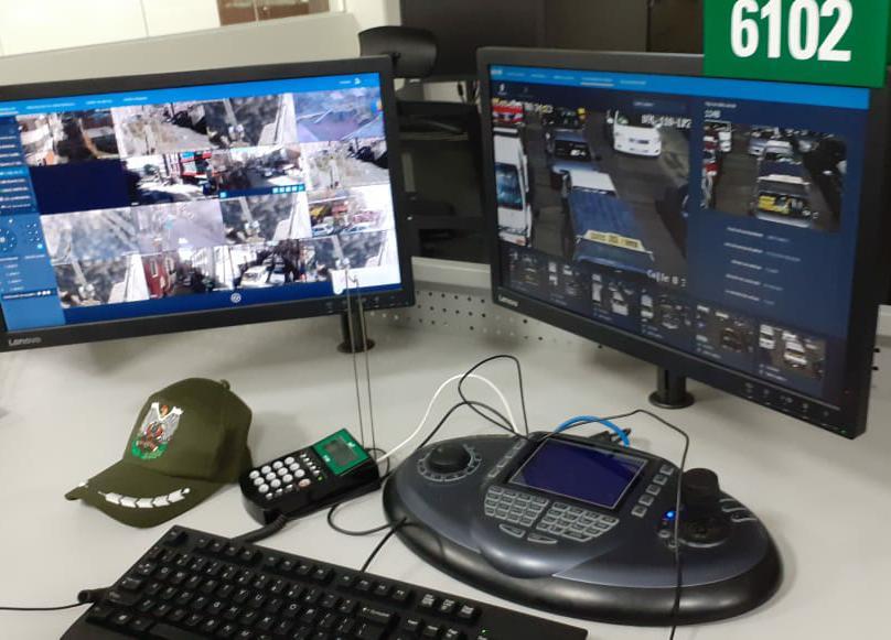 Equipos de última generación sirven para monitorear llamadas, imágenes y datos en el BOL-110 / Ángel Salazar