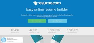 أفضل موقع لكتابة السيرة الذاتية مجاناً - free resume builder