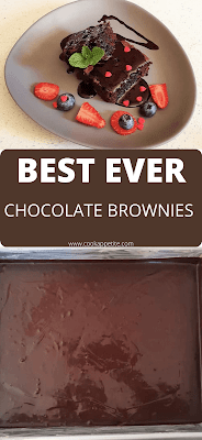 This Homamde Brownies Recipe makes Brownies that taste like store bought brownies.  The Brownies are fudge inside  and they are made from scratch. They are moist,dense and they have a perfect fudgy texture.really perfect for every brownie lover.  These brownies are actually more perfect than box brownies because they are flavorful and homemade.