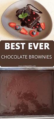 Best ever brownies recipe