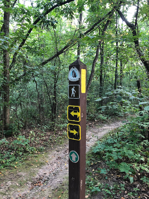 At the Robert O Cook Memorial Arboretum, hikers can hike along the Arbor Ridge Segment of the Ice Age National Scenic Trail.
