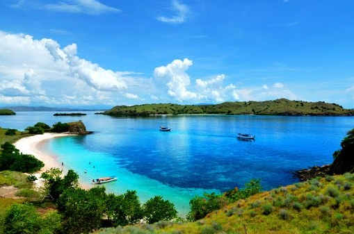 Panorama di Kepulauan Komodo