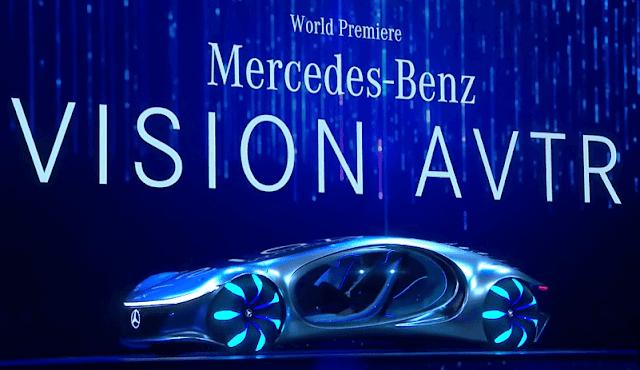 Mercedes-Benz Launches Vision Avatar Concept Car