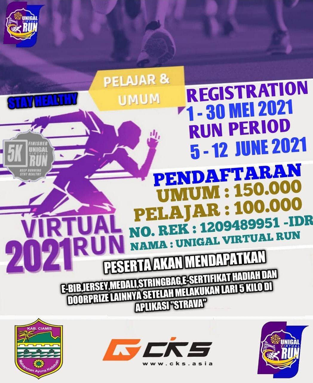 Unigal Virtual Run • 2021