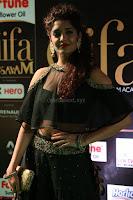 Ritika Singh in a Ethnic Deep Neck Dark Green Choli Ghagra at IIFA Utsavam Awards March 2017 ~ 042.JPG