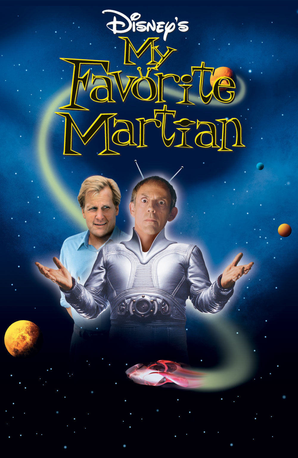My Favorite Martian [1998] [DVDR] [NTSC] [Latino]