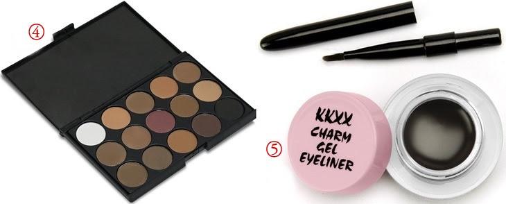 Top 5 maquiagens baratas