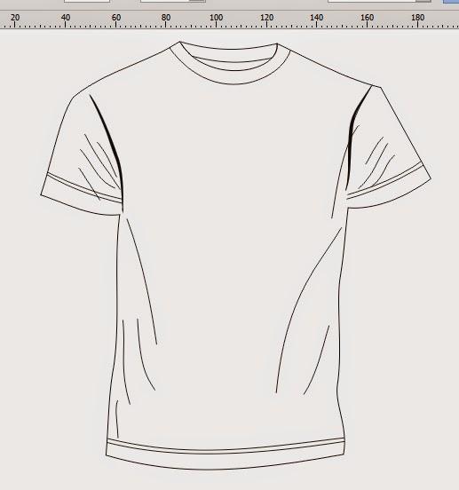 Gambar Tutorial Artikel Tik Membuat Desain Kaos Coreldraw