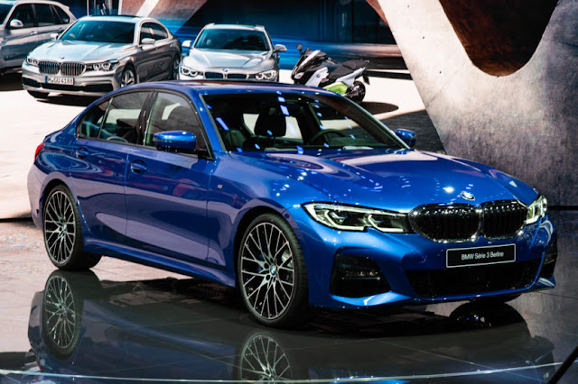 New Photos Of The Bmw 3 Series G20 From Paris