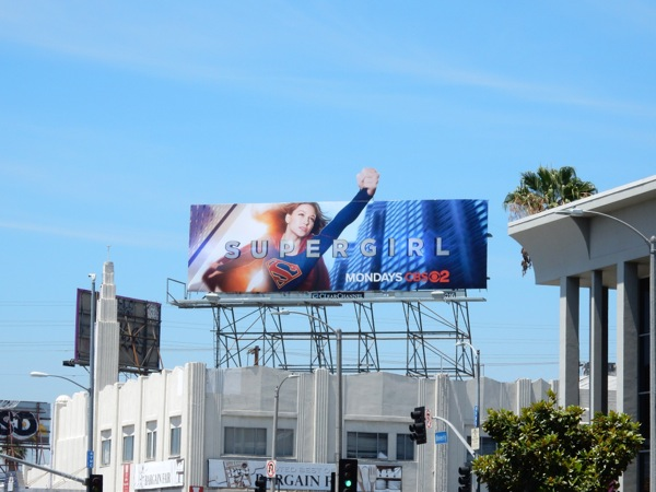 Supergirl season 1 billboard