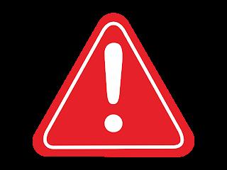 Warning Free Vector Logo CDR, Ai, EPS, PNG