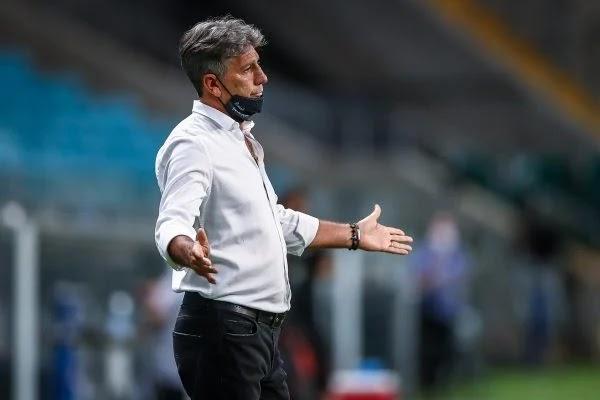 Renato Gaúcho tem sintomas de Covid-19 e não viaja com o Grêmio