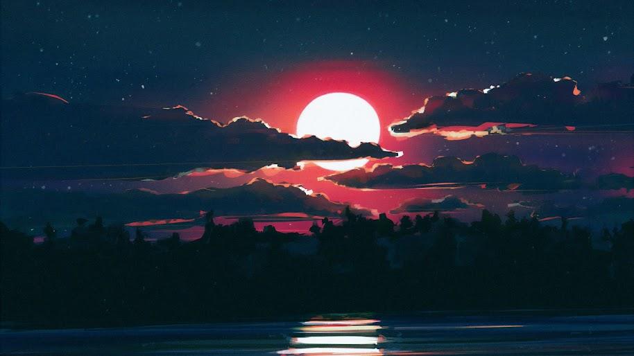 The Best Moonlight Wallpaper Laptop Pics