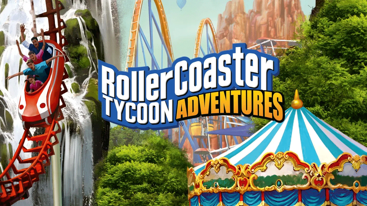 Link Tải Game Rollercoaster Tycoon Adventures Free Download