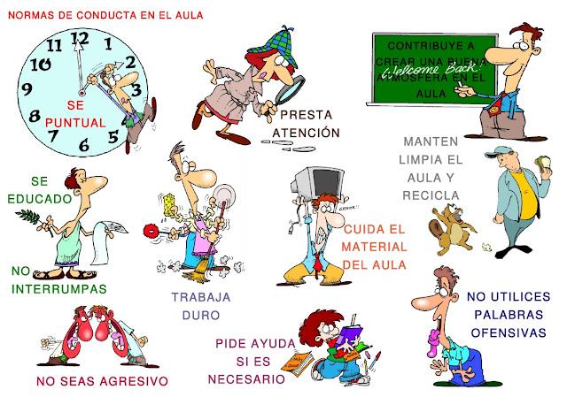 Normas de convivencia en el aula im genes para imprimir preg ntale al profesor - Orden y limpieza en el hogar ...