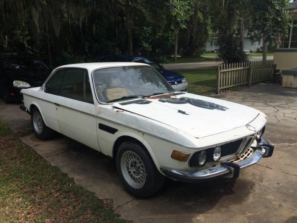 Complete For Restoration, 1975 BMW 3.0 CSI E9