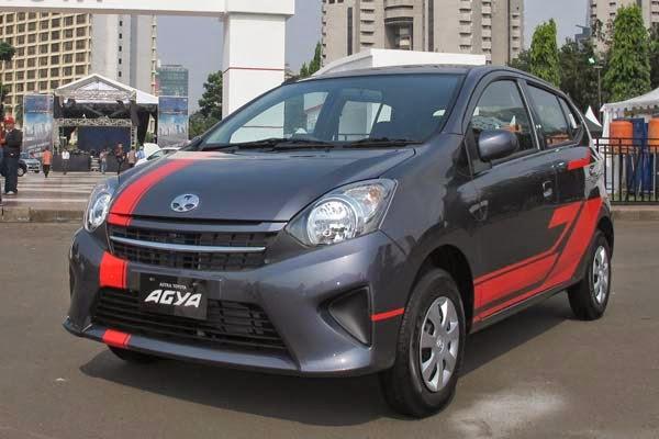 Gambar Modifikasi Body Mobil Daihatsu Ayla Terbaru 2014