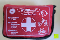 Tasche: ORA-TEC 32-teiliges Erste-Hilfe-Set im praktischen Etui mit Gürtelschlaufe