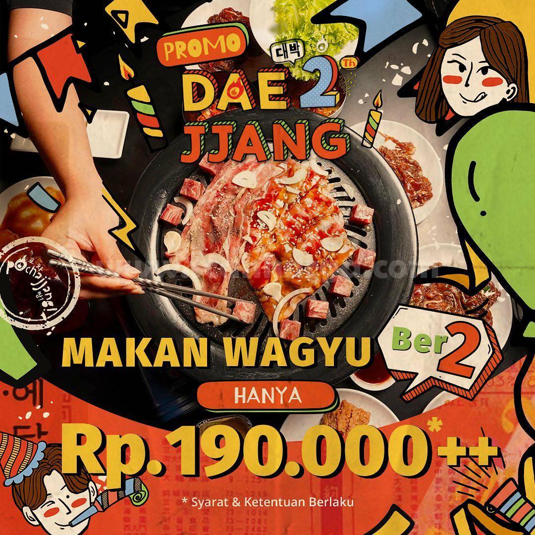 Promo Pochajjang Makan Wagyu Berdua cuma Rp 190.000++