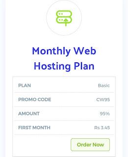 Energyhost hosting plan