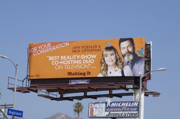 Making It 2019 Emmy nominee billboard