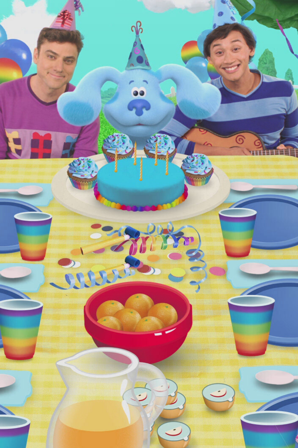 Blue's Clues Birthday : blue's, clues, birthday, MOMMY, EXPERT:, Blues, Clues, Birthday, Party, Special