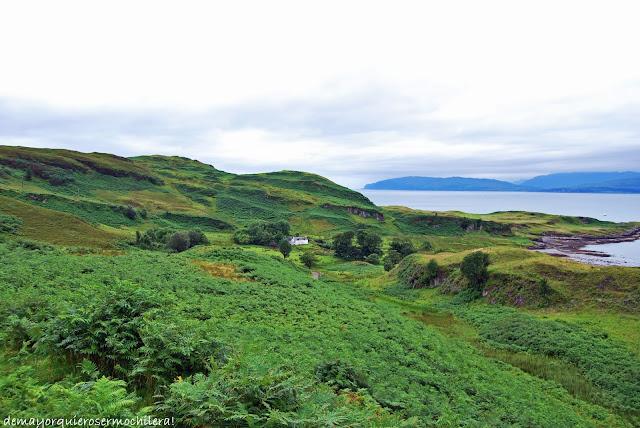Isla de Kerrera, Escocia