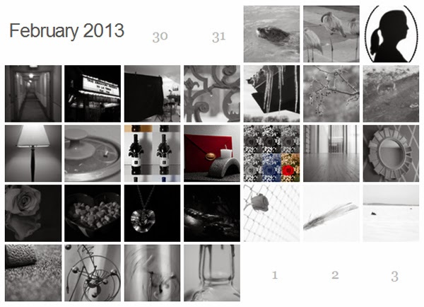 photography, blackandwhite, B&W, calendar, monthly photography
