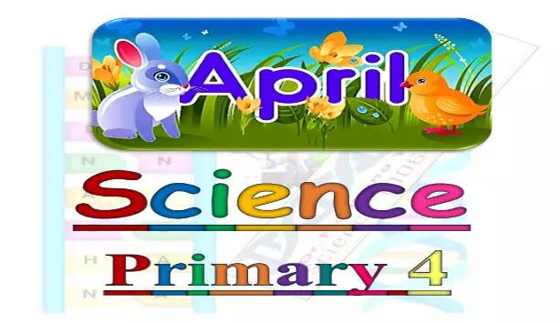مراجعة ساينس منهج الصف الرابع الابتدائي لشهر ابريل
