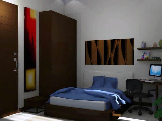 17 desain interior kamar tidur minimalis ukuran 3x3
