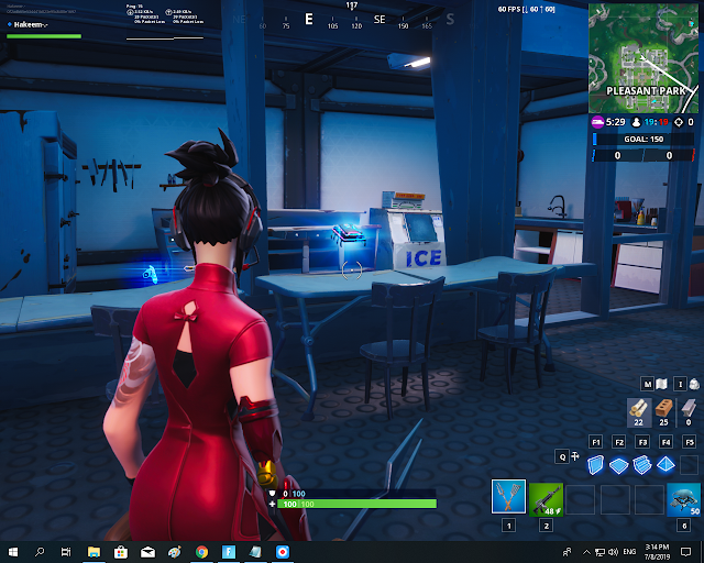 Found inside a disaster bunker basement in Pleasant Park FORTBYTE Mission #37