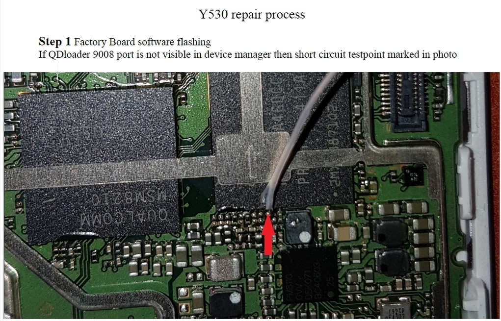 Huawei Y530 U00 Dead Boot Repair Firmware with usb - DANISH