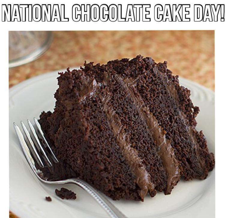 National Chocolate Cake Day Wishes pics free download